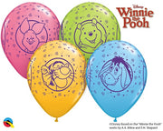 Winnie the Pooh 11 inch Helium Balloons