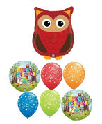 Woodland Critters Owl Birthday Bouquet