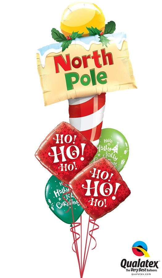 Christmas North Pole Balloon Bouquet  1