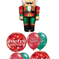 Christmas Nutcracker Balloon Bouquet 1