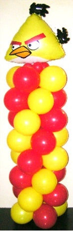 Angry Birds Yellow Bird Balloon Column 4