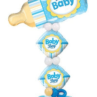 Baby Blue Bottle Balloon Stand Up