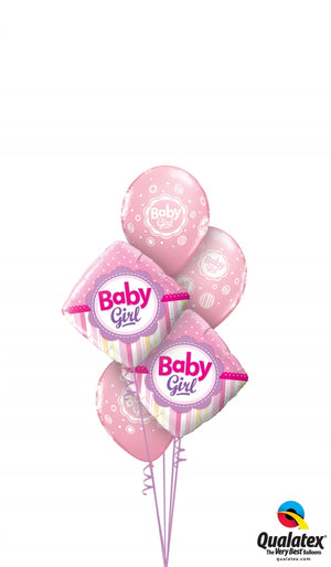 Baby Girl Diamond Bouquet