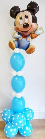 Baby Mickey Mouse Balloon Stand Up