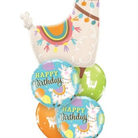 Llama Birthday Balloon Bouquet 2
