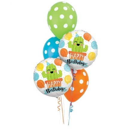 Cactus Birthday Balloon Bouquet 2