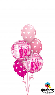 Cancer Awareness Hope Balloon Bouquet 2