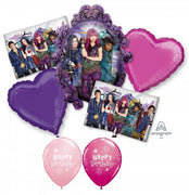 Descendants Birthday Balloon Bouquet 1