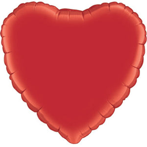 36 inch Jumbo Red Heart Foil Balloon