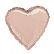 18 inch Rose Gold Heart Foil Helium Balloon