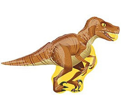 Dinosaur Raptor Shape Foil Balloon