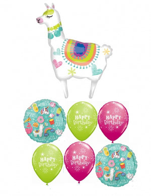 Llama Birthday Balloon Bouquet 4