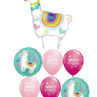 Llama Birthday Balloon Bouquet 5