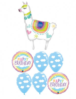 Llama Birthday Balloon Bouquet 3