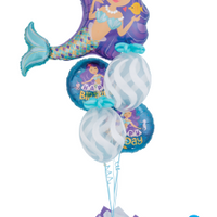 Mermaid Birthday Balloon Bouquet 14