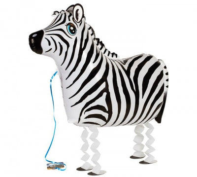 Jungle Pet Zebra Walker (Includes Helium)