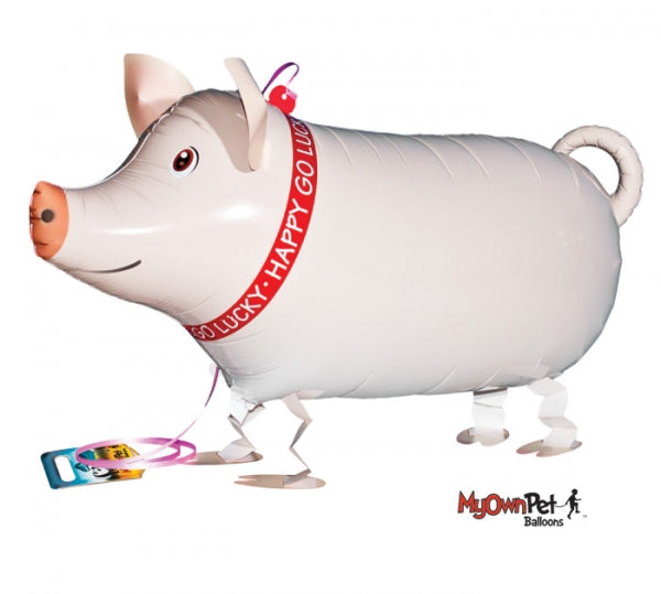 Farm Pig Pet Balloon Includes Helium