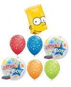 Bart Simpson Birthday Balloon Bouquet 4