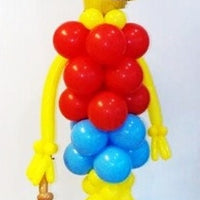 Bart Simpson Balloon Column