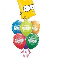 Bart Simpson Birthday Balloon Bouquet 1