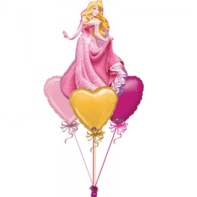 Sleeping Beauty Aurora Balloon Bouquet 3