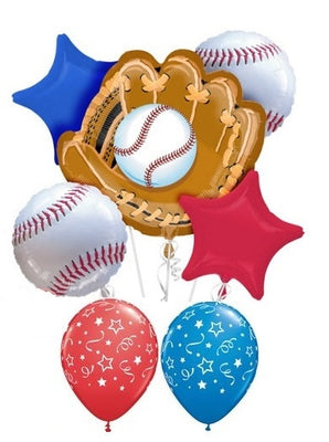 Baseball Glove Balloon Bouquet 1