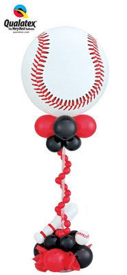 Baseball Balloon Centerpiece 1