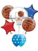 Basketball Hoop Balloon Bouquet 4