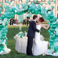 Wedding Balloon Arch with Tulle