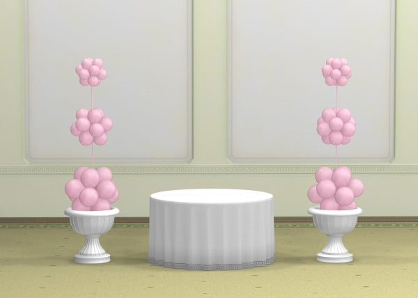 Wedding Cluster Balloon Columns