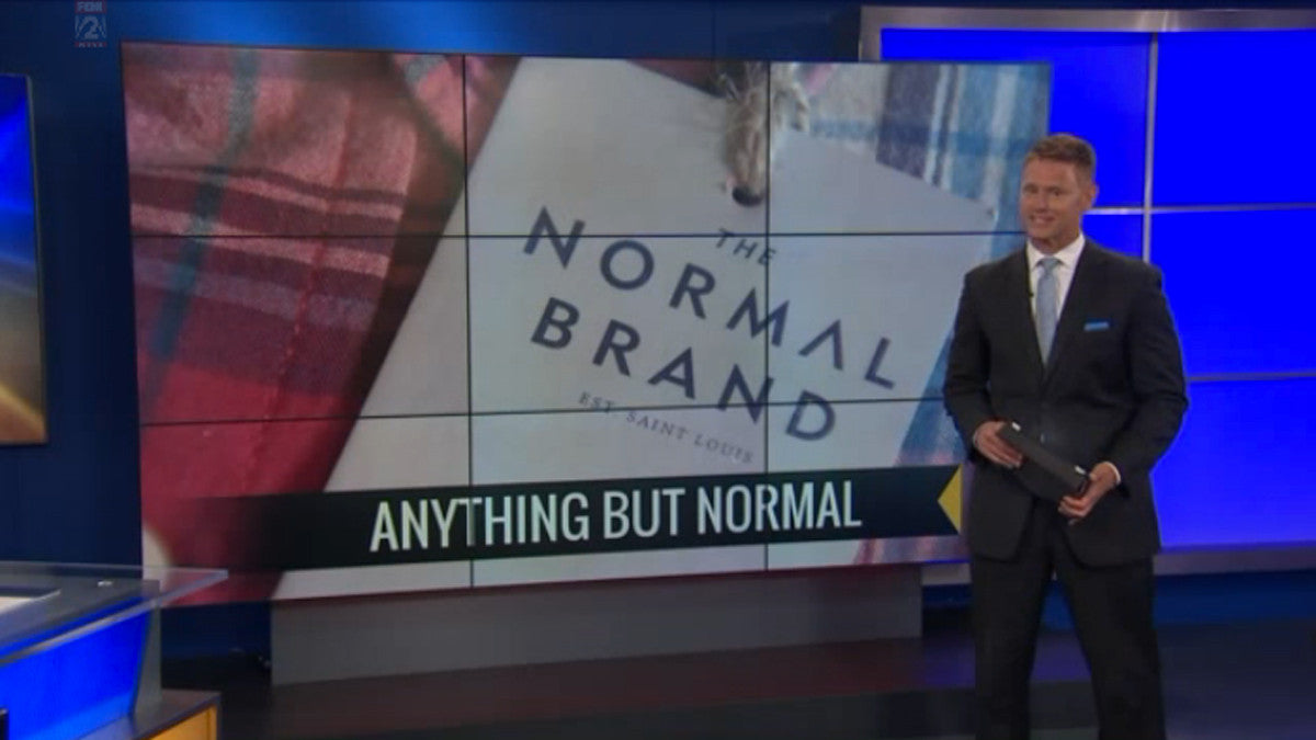 The Normal Brand Featured on Fox 2 News