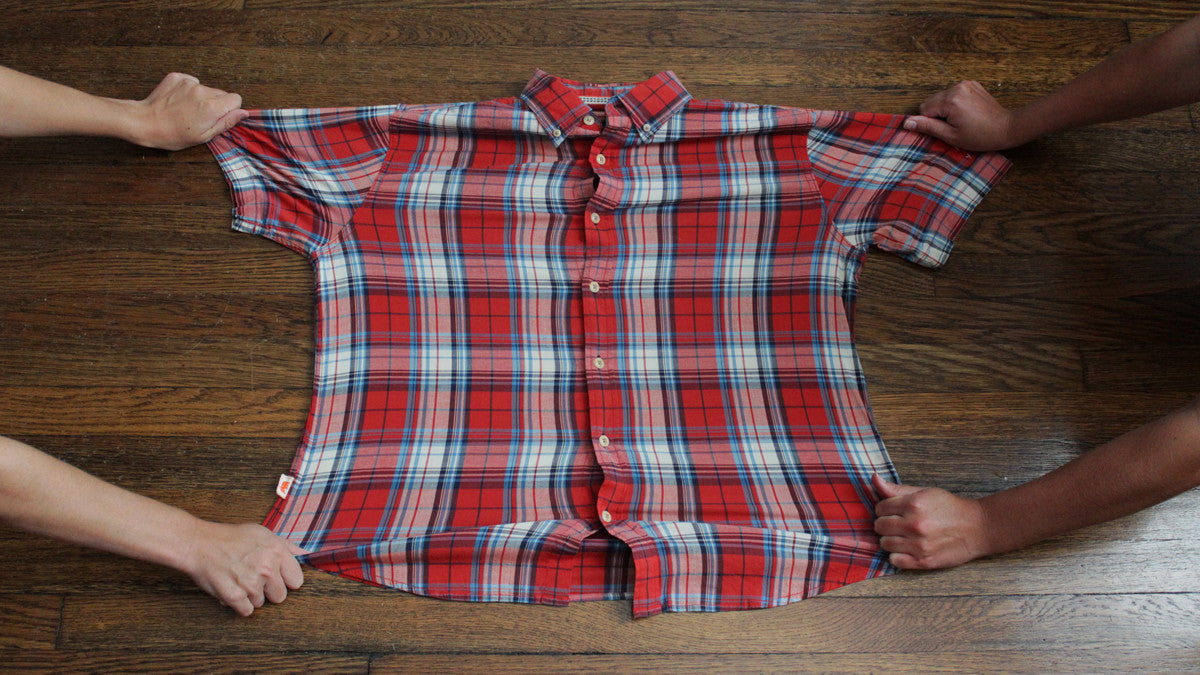 Short Sleeve Plaid Giveaway