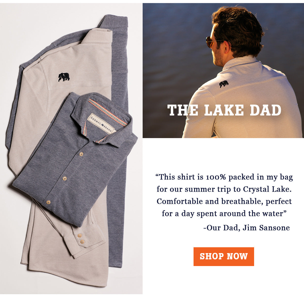 The Lake Dad