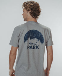 Forest Park T-Shirt: Heathered Grey