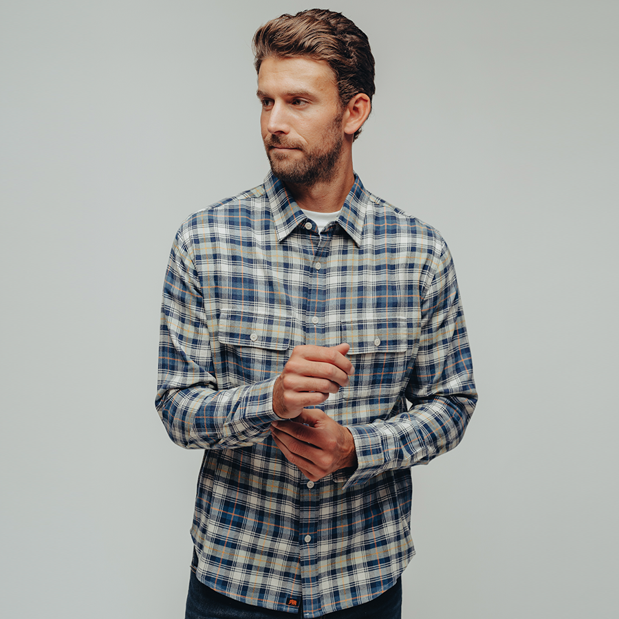 Conrad Plaid Button Up Shirt