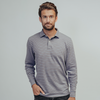 Puremeso All-Over Stripe Polo