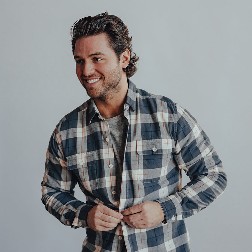 Bernard Flannel Button Up Shirt