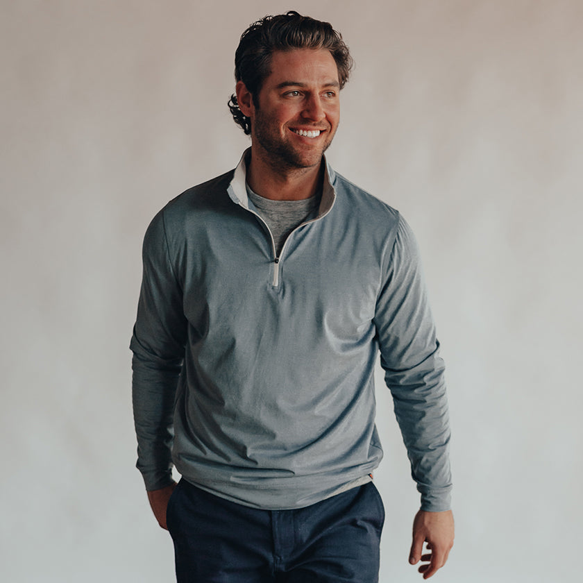 Performance Quarter Zip Pullover