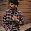 Marco Washed Twill Button Up Shirt