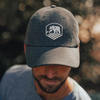 Canvas Activewear Cap - Grey