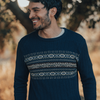 Chest Fair Isle Crew Sweater