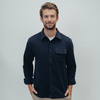 Boone Heavy Brushed Twill Overshirt