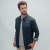 Danny Denim Button Up Shirt