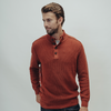 Stone Wash 4 Button Sweater