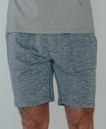 Performance Workout Short: Mineral Blue