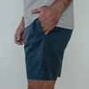 Heathered Hybrid Shorts