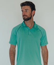 Performance Polo: Blue Haze