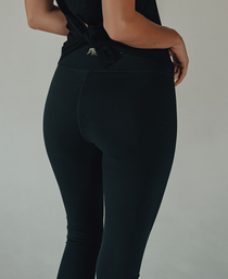 Logo Legging: Black