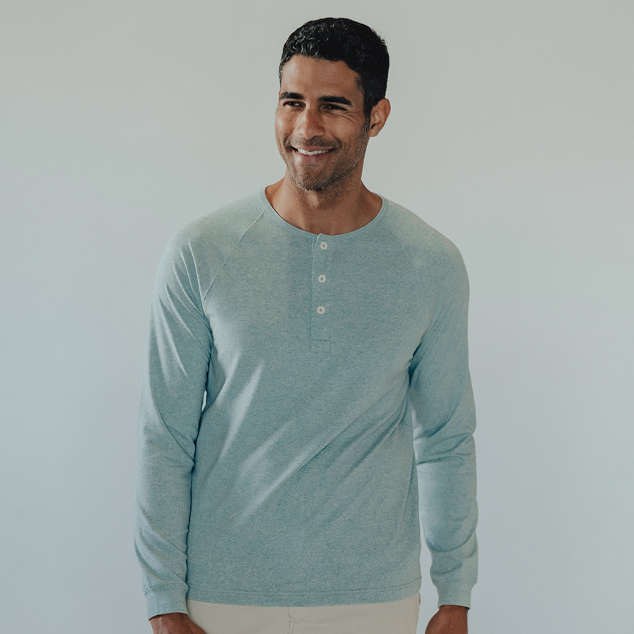 Active Puremeso Long Sleeve Henley