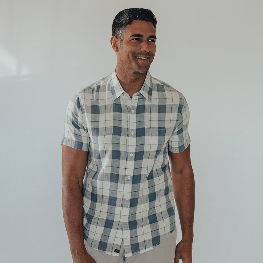 Skipper Short Sleeve Button Down Shirt